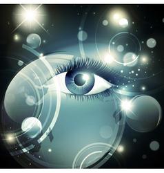 Mystic psychedelic Galaxy vector