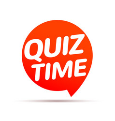 Quiz time icon concept sign ask game vector