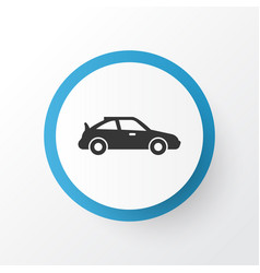 Sports automobile icon symbol premium quality vector