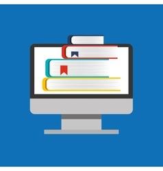 Education online global e-learning vector