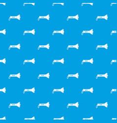lantern pattern seamless blue vector image