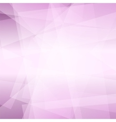Abstract Pink Polygonal Background vector image