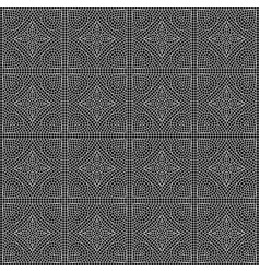 Ancient mosaic ceramic tile pattern vector