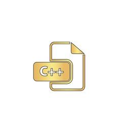 C plus computer symbol vector