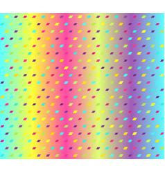 glowing parallelogram pattern seamless vector image