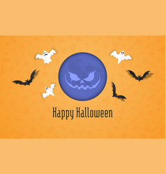 happy halloween holiday sale composition 01 vector image
