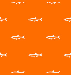 Herring fish pattern seamless vector