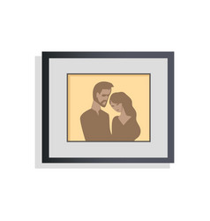 interior decor picture couple vector image