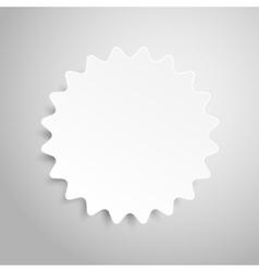 Paper Banner Design Mockup Star stars vector