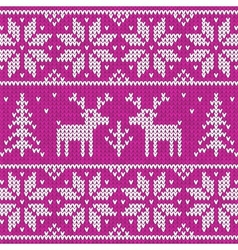 Sweater with deer vector