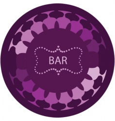 bar vector image