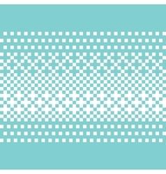 Pixel art style background vector image