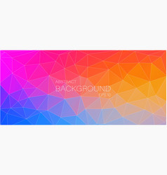 Abstract mosaic background many colourful vector