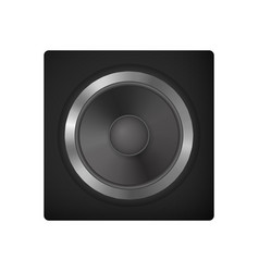audio speakers for car vector image