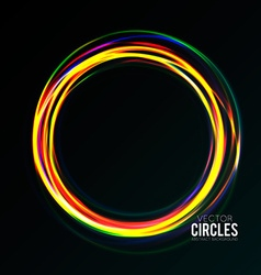 Bright Rings vector