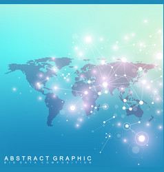 Geometric graphic background communication vector