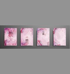 Mixture acrylic paints design template vector
