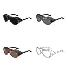 protective glassesmountaineering single icon in vector image