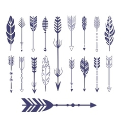 Quills And Arrows Graphic Collection vector