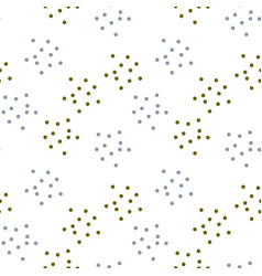 Simple spray dots seamless pattern vector