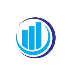 circle real estate logo concept image vector image vector image