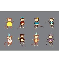 Monkey vector image vector image
