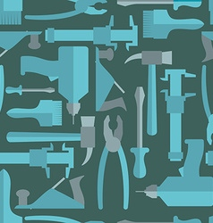 Seamless Construction Hand tools pattern vector image vector image