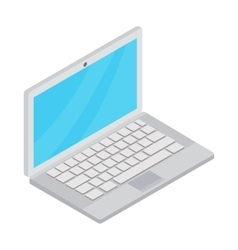 Laptop icon cartoon style vector image vector image