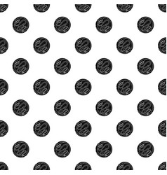 choco biscuit pattern seamless vector image