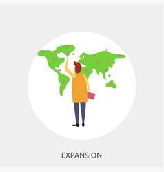 Expansion conceptual design vector