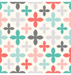Floral seamless pattern Endless texture vector image