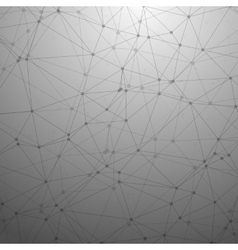 Futuristic Wireframe Background Polygonal vector image