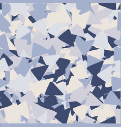 geometric seamless pattern with triangle shapes vector image