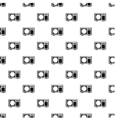 Outdoor conditioner radiator pattern seamless vector