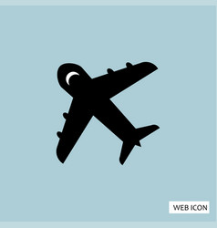 plane icon plane icon eps10 plane icon plane vector image