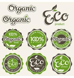 Set eco labels vector