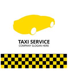taxi icon taxi service 24 hour serrvice taxi car vector image