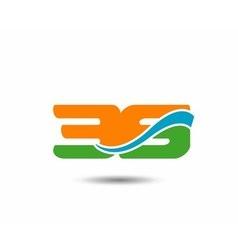 39 anniversary wave logo vector