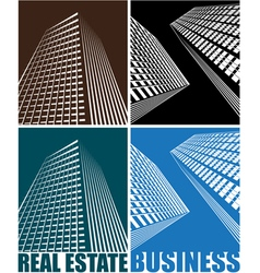 business Centre vector image