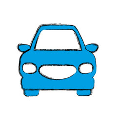 Car transport vehicle vector
