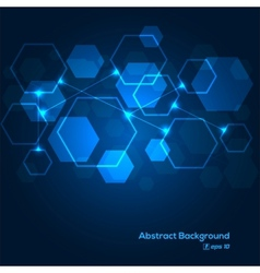 Digital scheme abstract background vector