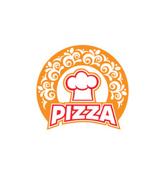 pizza-logo vector image