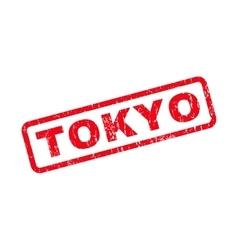 Tokyo Rubber Stamp vector