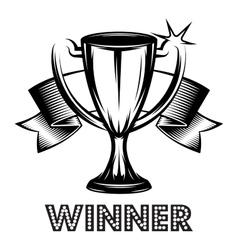 winner banner royalty free vector image vectorstock