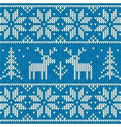 Sweater with deer vector image