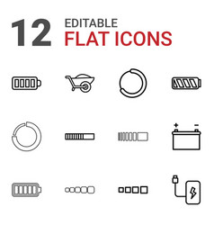 12 load icons vector