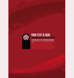 automotive tire background 30 vector image