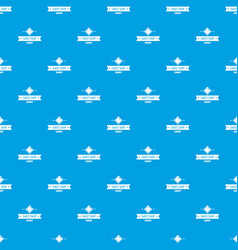 candy shop pattern seamless blue vector image