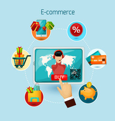 E-commerce Concept vector
