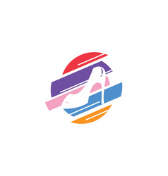 Elegant shoe icon vector